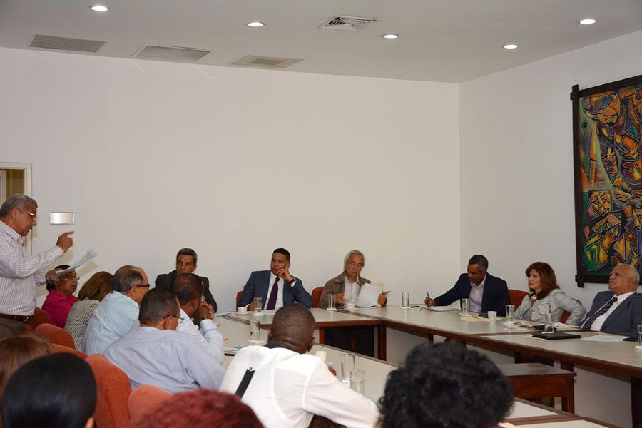 La reunión del CNS.