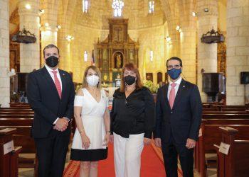 José Antonio Fonseca, Marcia Campiz, Serafina Scannella y Jorge Rodríguez.