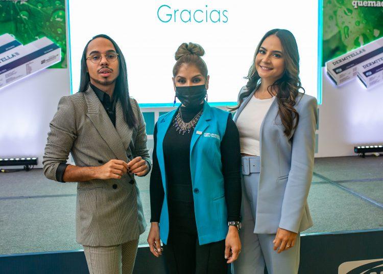 Eddy Gómez, Alexandra Abreu y Dra. Cecilia Garcia