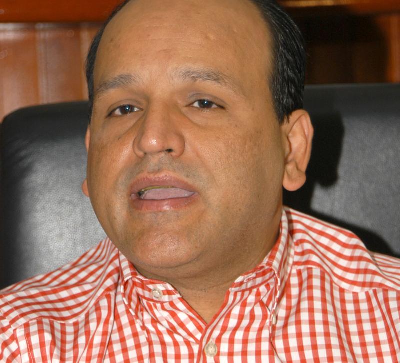 Iván de Jesús García, presidente de la Federación Dominicana de Comerciantes.