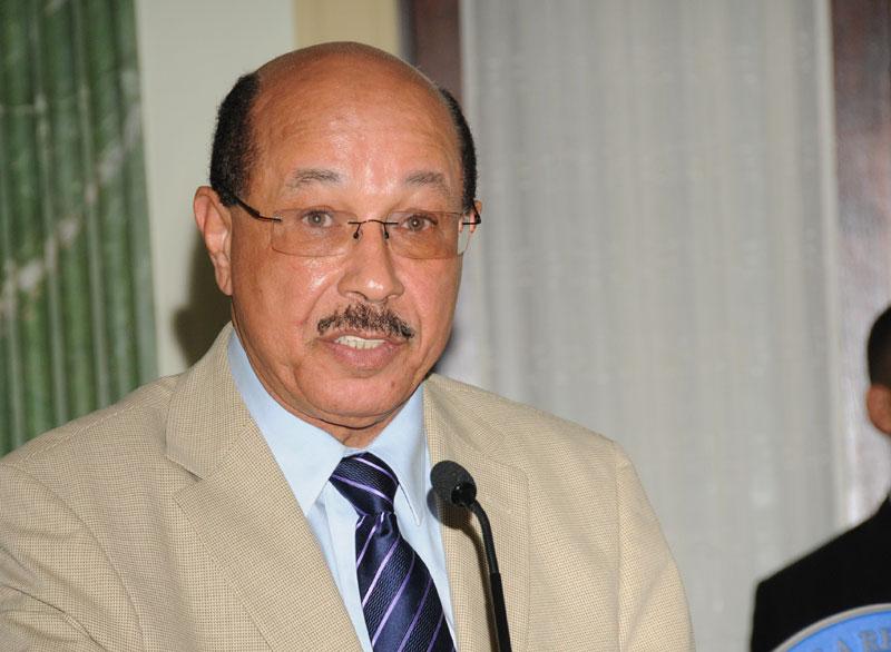 Juan Temístocles Montás, ministro de Economía, Planificación y Desarrollo.