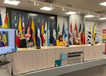Cancilleres iberoamericanos reafirman su compromiso con el multilateralismo y preparan la XXVII Cumbre Iberoamericana. | EFE.