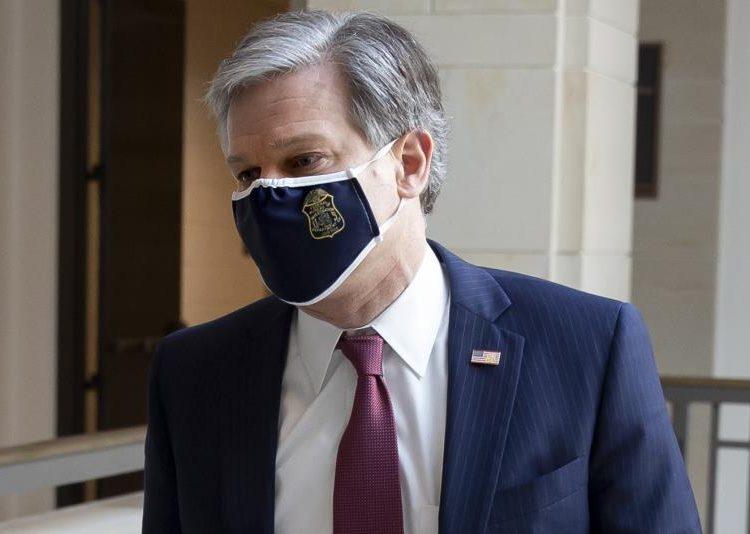 El director del FBI, Christopher Wray. | Michael Reynolds, EFE.