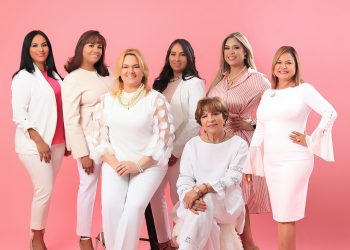 Ligia Espinal (Vocal), Wendy Méndez ( Vocal), Katherine Matos ( Secretaria), Denisse Sánchez (Presidente), Antonia Núñez (Tesorera), Aida Troncoso (Vicepresidente), y Enersy Vilorio (Vocal).