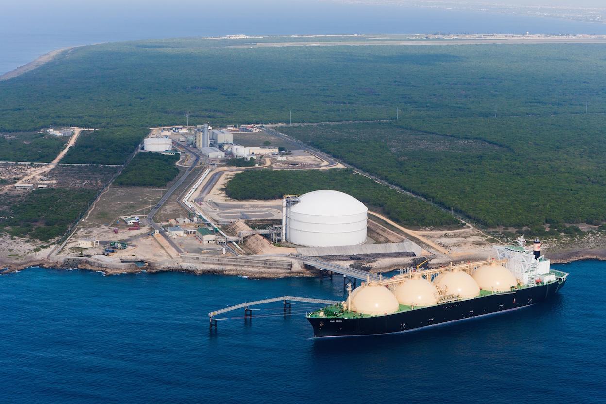 República Dominicana ha aumentado el consumo de gas natural para la industria.