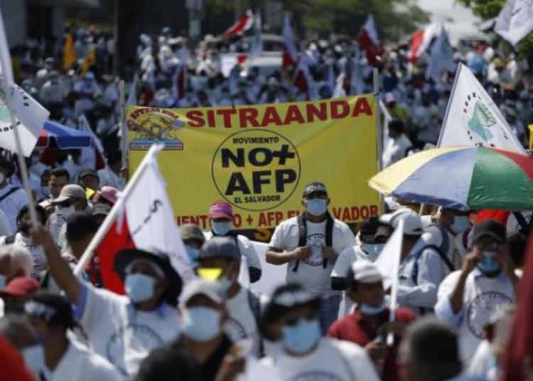 AFP Protestas El Salvador