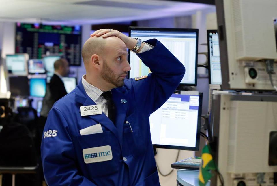 Wall Street cierra en rojo.   Fuente externa.