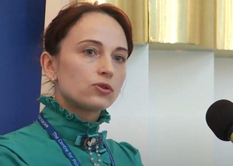 La relatora especial de la ONU, Alena Douhan.   Fuente externa.