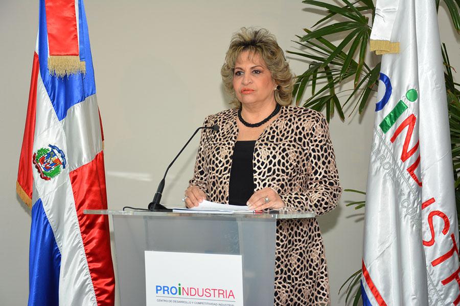 Alexandra Izquierdo, directora general de Proindustria. | Gabriel Alcántara