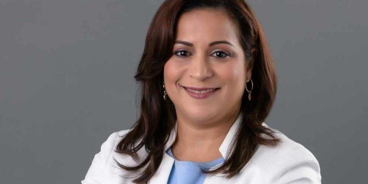 La directora de Talento Humano de SURA, Alexandra de León Pimentel.