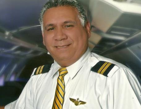 Alfredo Hernández Paz, presidente del Centro Aeronáutico Tripulantes.