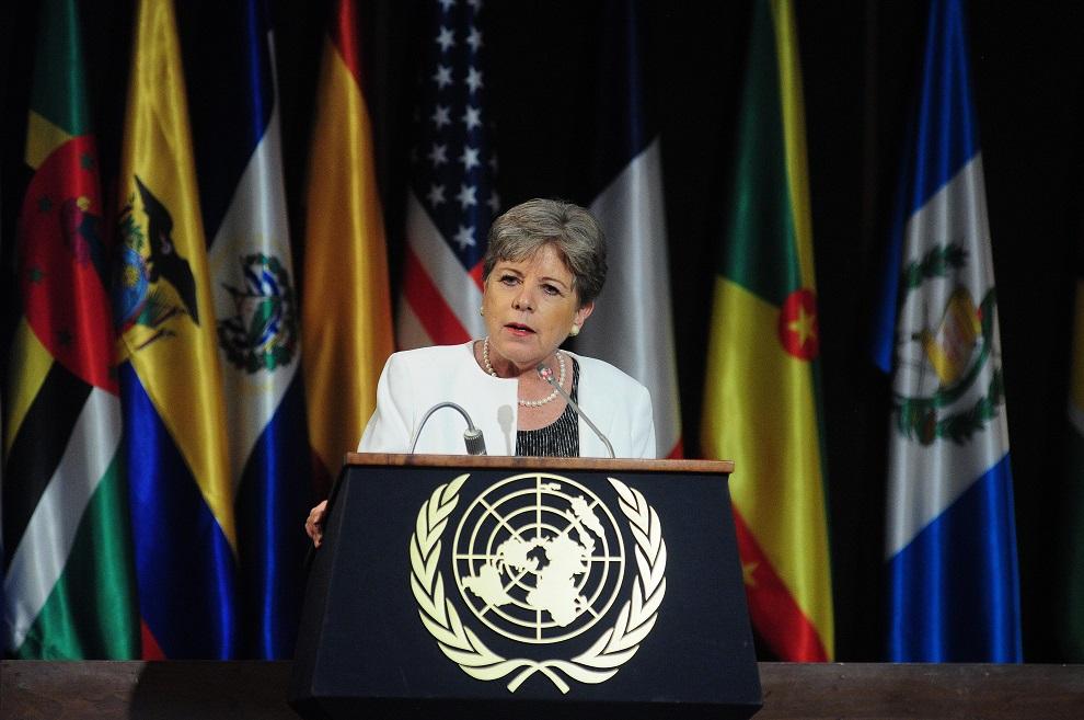 la presidenta michelle bachelet participa de los 70 años de la cepal