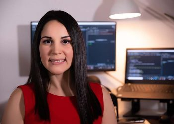 Ana Tavárez, especialista en ciencias de datos.