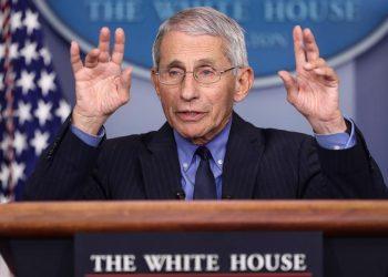 El epidemiólogo jefe de Estados Unidos, Anthony Fauci. | Oliver Contreras, EFE.