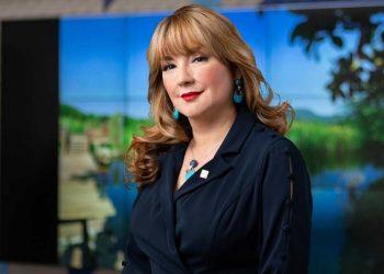 Antonia Antón de Hernández, vicepresidenta ejecutiva sénior de Gestión Humana, Transformación Cultural, Administración de Créditos y Cumplimiento del Banco Popular.