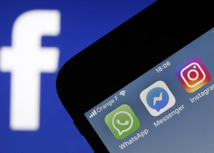 Apps de Facebook. Whatsapp, Instagram, Messenger, getty