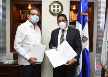 Miguel Fiallo Calderón y Carlos Ernesto Pimentel