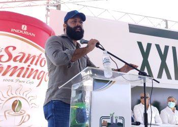 El director de Agricultura Familiar de Progresando con Solidaridad, Arturo Bisonó.