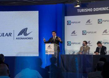 El ministro de Turismo, David Collado.