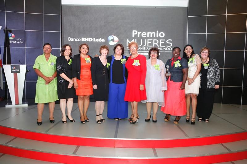 Finalistas y ganadoras  Premio Mujeres que Cambian el Mundo.