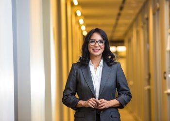 Josefina Navarro vicepresidenta sénior de Comunicación Corporativa y Responsabilidad Social del Banco BHD León.