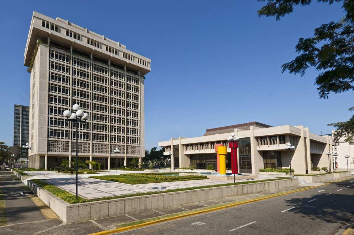 Sede del Banco Central de República Dominicana.