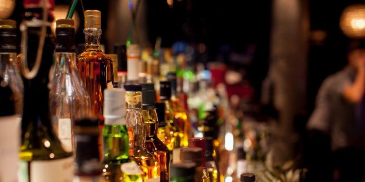 Bebidas alcohólicas.   Shutterstock.