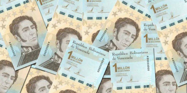 Billetes de un millón de bolívares