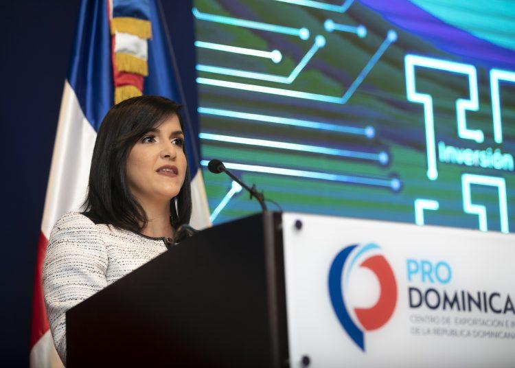 Biviana Riveiro Disla, directora ejecutiva del Centro de Exportación e Inversión de la República Dominicana (ProDominicana).