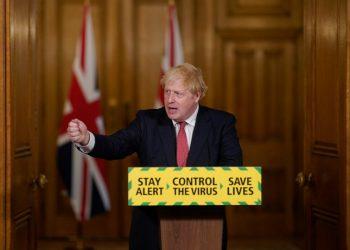 El primer ministro británico, Boris Johnson. | Fuente externa.
