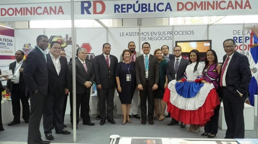La delegación dominicana que participó en Expocomer 2016 logró varios acuerdos de negocios.