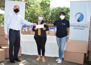 CZFS realiza donativos a instituciones de labor social