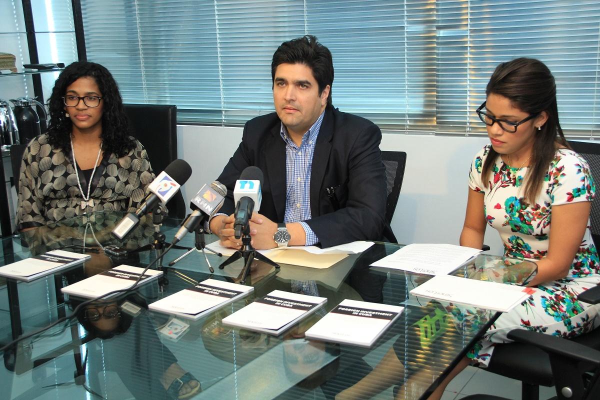 Carmen Roa, César Castillo y Laura Solano./elDinero