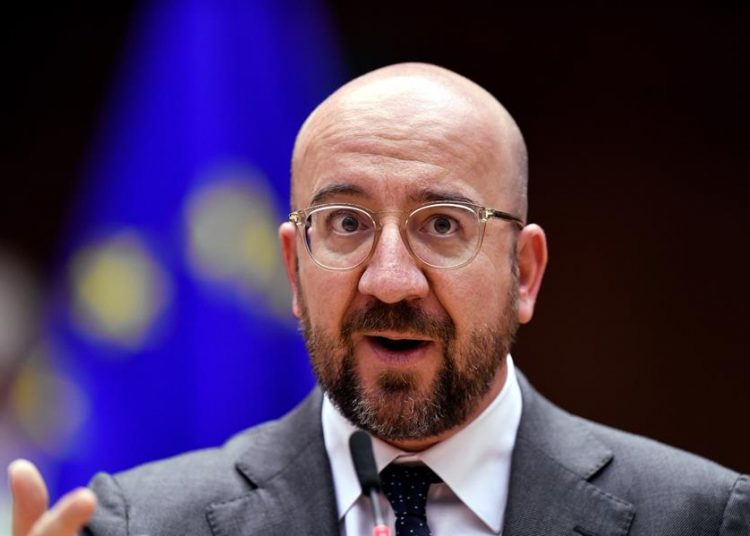 El presidente del Consejo Europeo, Charles Michel.   John Thys, EFE.