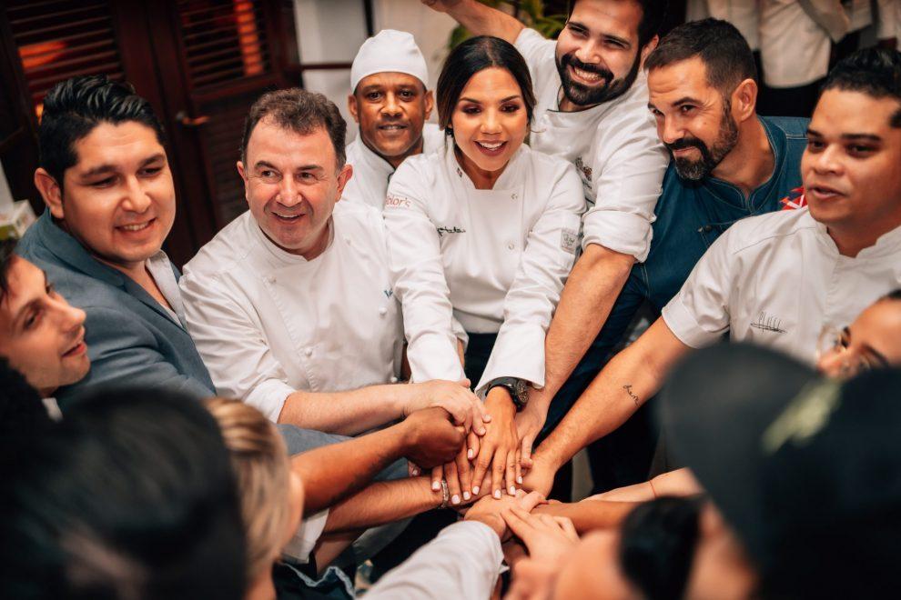chef tita y grupo de chef