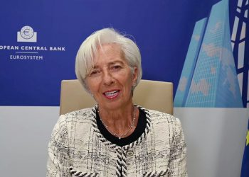Christine Lagarde, BCE