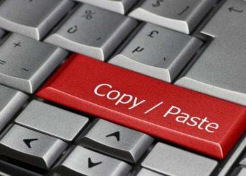 Un 79.91 % afirma que todo lo que hay en Internet se puede copiar, pegar y descargar y que no está mal ni es ilegal hacerlo.
