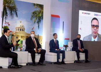 Foro de Ciberseguridad de la República Dominicana, organizado por el Viceministerio de Agenda Digital del Ministerio de la Presidencia, el Centro Nacional de Seguridad y Fortinet.