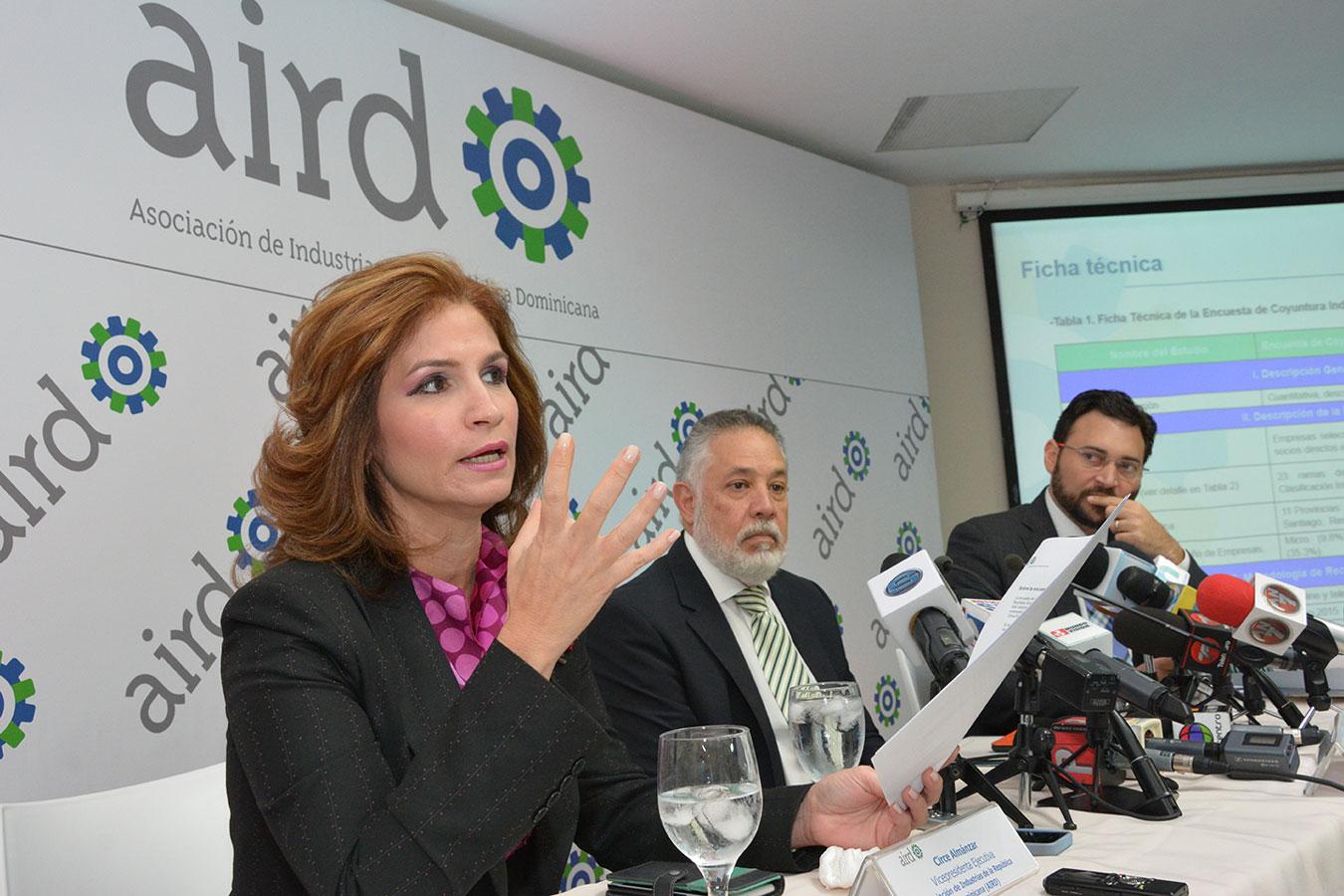 La encuesta de coyuntura industrial es una iniciativa de la Asociación de Industrias de la República Dominicana (AIRD) que ha sido puesta en práctica desde finales del año 2011. | Gabriel Alcántara