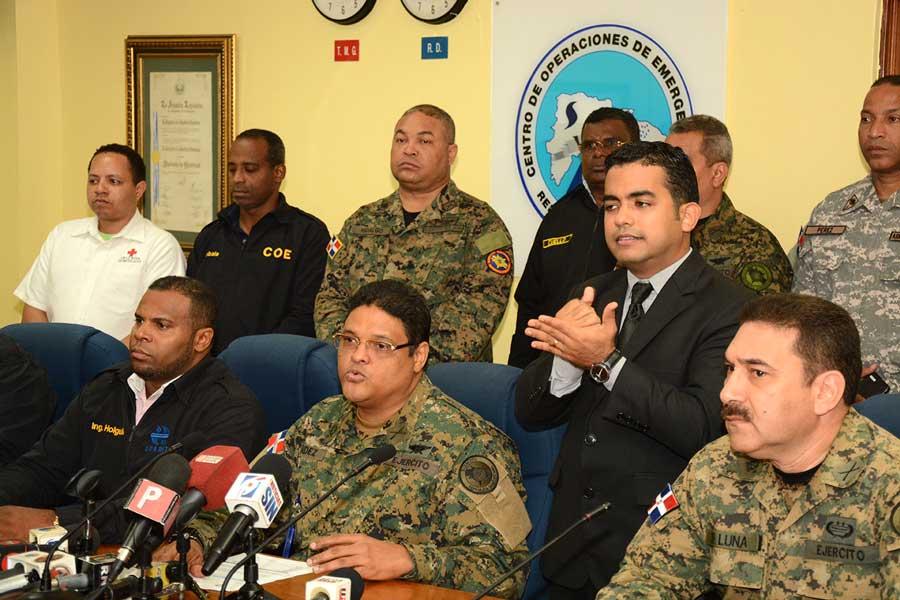 coe presenta evaluacion del paso del huracán matthew