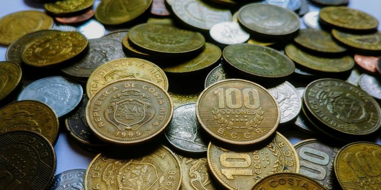 Colonos, Moneda de Costa Rica