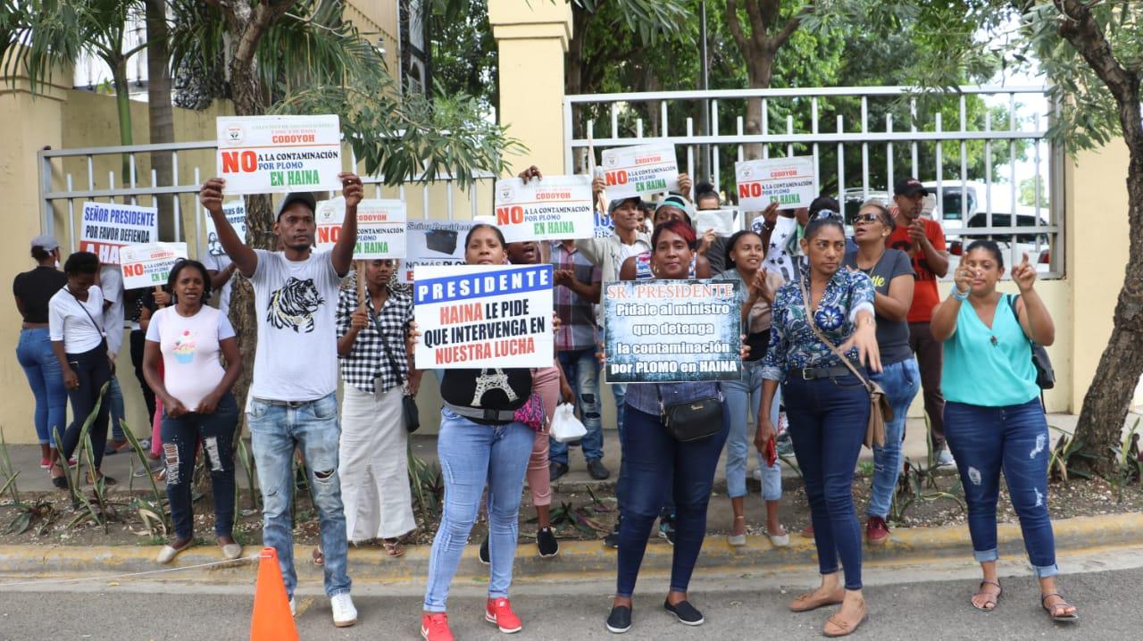 comunitarios de haina frente a medio ambiente, reclaman el cierre de veri .1