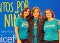 Cristina Alonso, Jatnna Tavarez y Rosa Elcarte.
