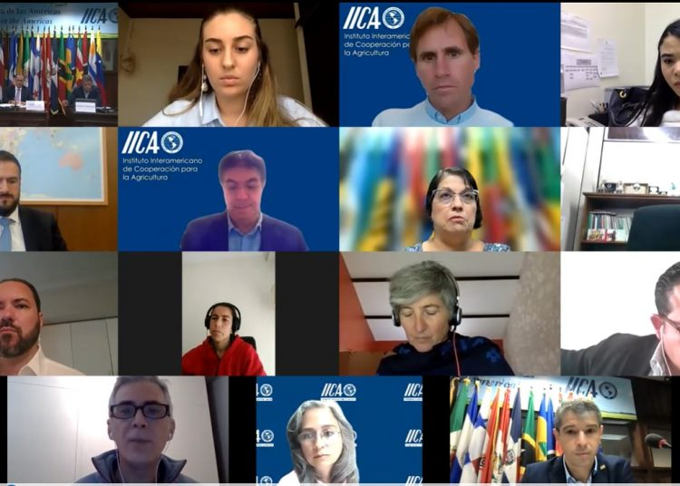 Cumbre sobre Sistemas Alimentarios del IICA. | Fuente externa.