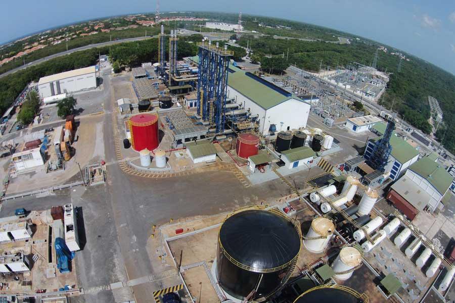Vista aérea del parque energético de CEPM. | elDinero