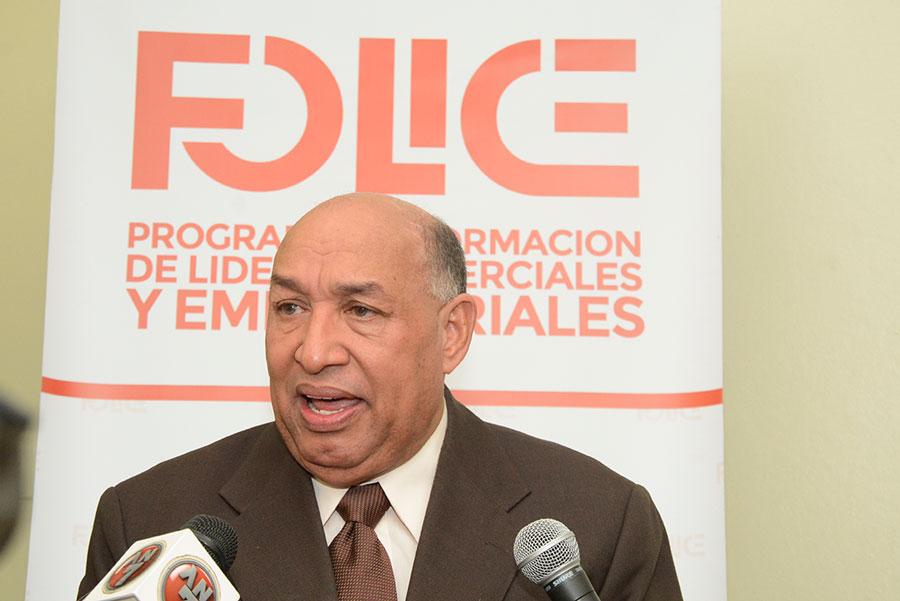 Rueda de prensa en Consejo Nacional de Comerciantes de RD, en la Asociación de Mayoristas