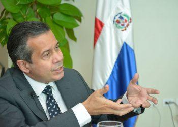 Orlando Jorge Mera, ministro de Medio Ambiente y Recursos Naturales.   Lésther Álvarez.