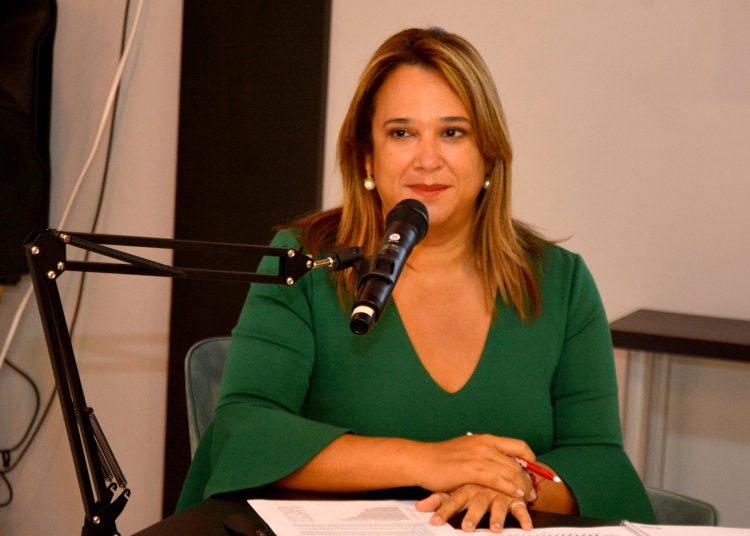 Isabel Estévez, directora de la firma de gestión humana ACERH Dominicana.   Lésther Álvarez