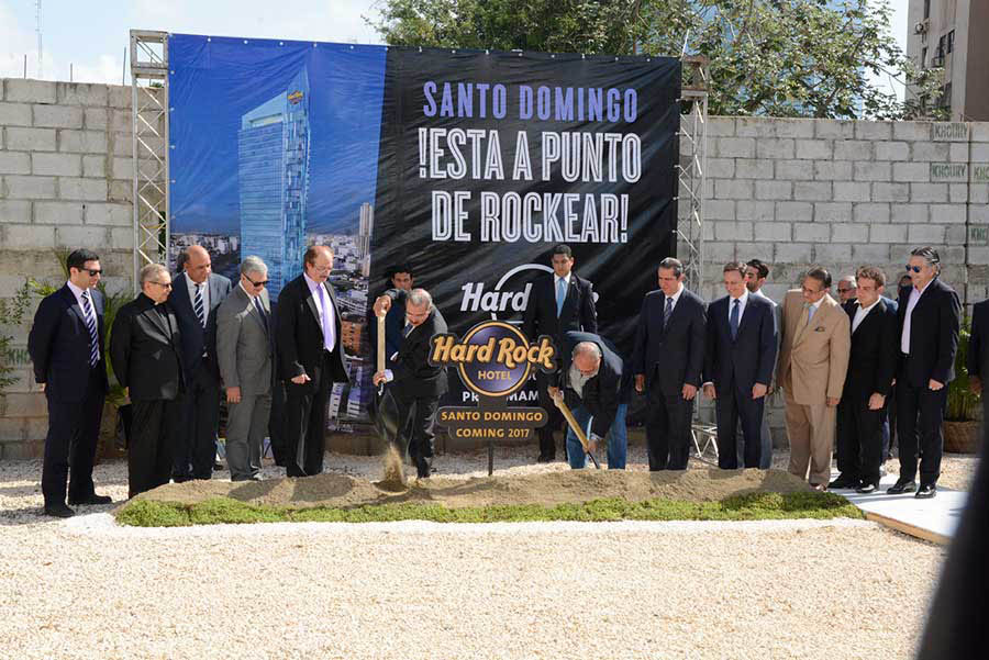El nuevo hotel Hard Rock estará ubicado en la avenida Abraham Lincoln, en la parte céntrica de la capital. / Léster Álvarez.