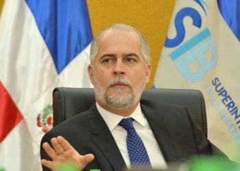 Alejandro Fernández W., Superintendente de Bancos. | Lésther Álvarez